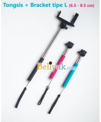 Monopod Camera Digital + Bracket tipe L