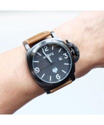 Infantry IN-025 Men Brown Leather Watch