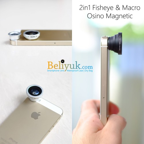 2in1 Fisheye 180 & Macro Magnetic for Smartphone