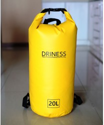 Driness Backpack 20 Liter Kuning Waterproof Dry Bag Ransel Original