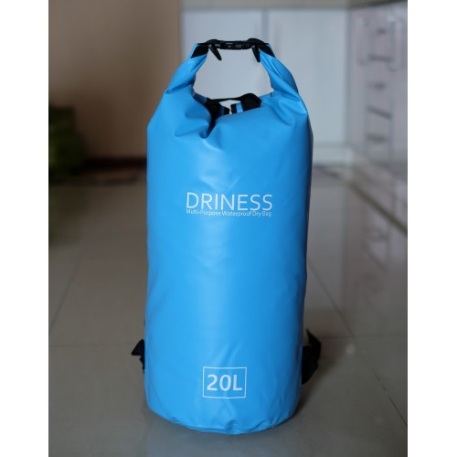 Driness Backpack 20 Liter Biru Waterproof Dry Bag Ransel Original