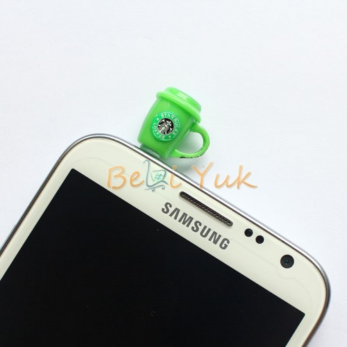 Starbucks Hot Cup Ear Cap Plug 35 mm for All Smartphone